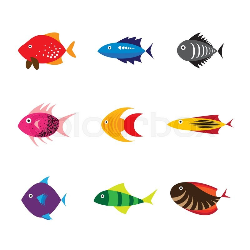 800x800 Fish Icon, Fish Icon Eps 10, Fish Icon Vector, Fish Icon Flat