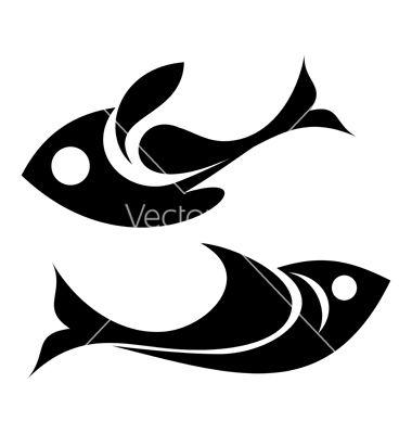 380x400 Fish Icon Vector 1554934