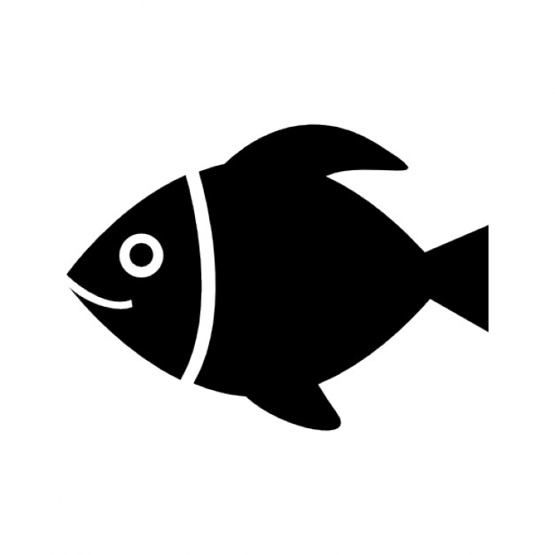 626x626 Black Fish Sketch Vector Icons Free Download