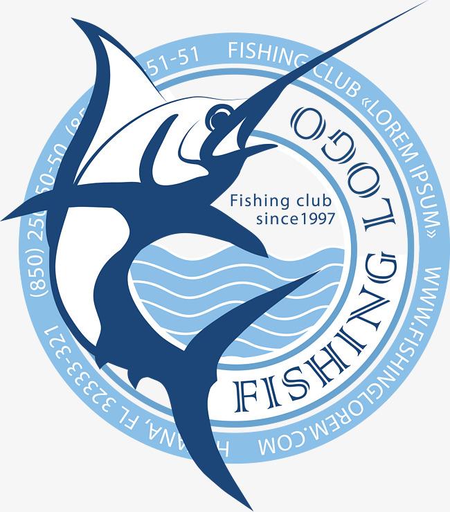 650x740 Ferocious Fish Logo Vector Material, Fish Vector, Logo Vector