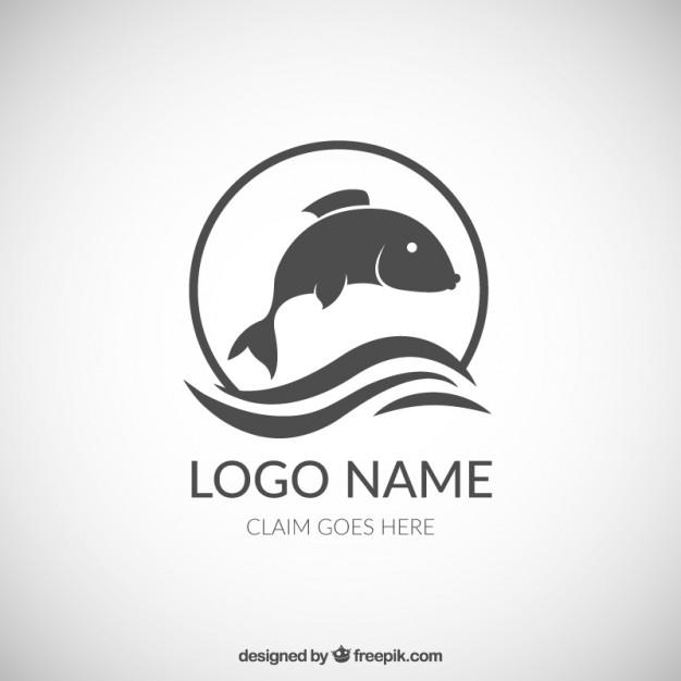 626x626 Fish Logo Vector Premium Download