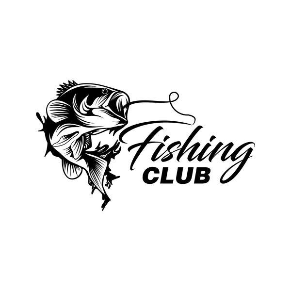 600x600 Fishing Club Logo Design Vector Material 01 Free Download