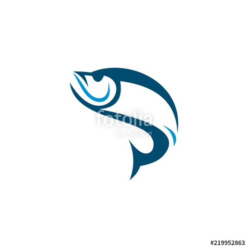 500x500 Fish Logo Vector Stock Image And Royalty Free Vector Files On