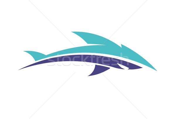 600x404 Creative Fish Logo Vector Vector Illustration Krustovin August