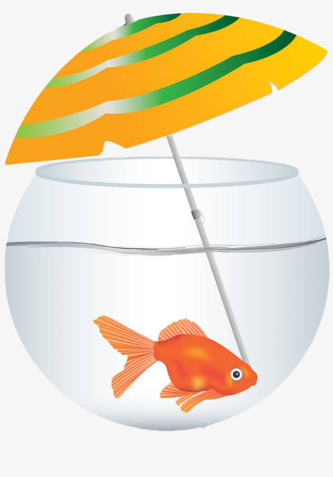 650x930 Hand Painted Vector Fish Tank, Fish Clipart, Glass Fish Tank, A