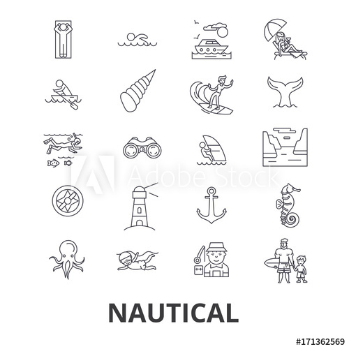 500x500 Nautical, Marine, Sailing, Anchor, Sea, Navy, Ocean, Fishing Line