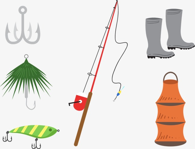 650x496 Vector Floats Fishing Line Hooks, Vector, Double Hook, Barb Png