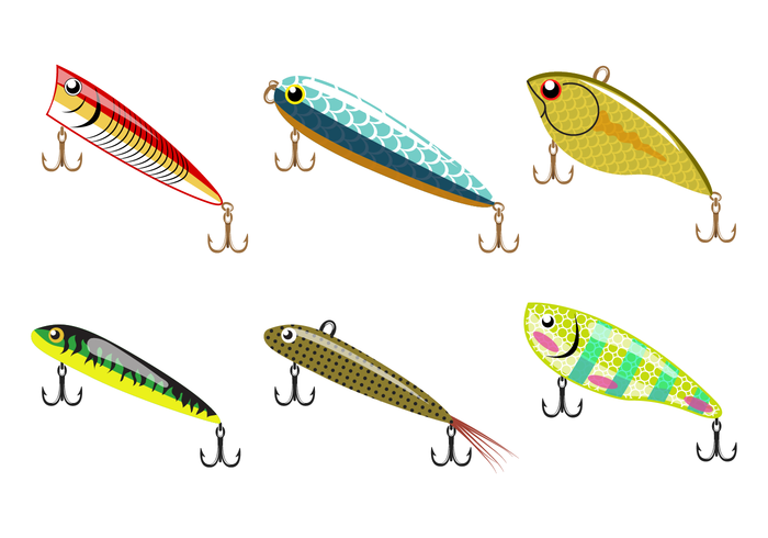 700x490 Free Fishing Lure Vector