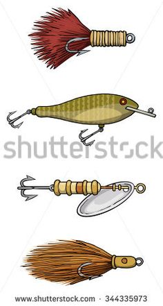 236x441 Image Result For Antique Fishing Lure Vectors Graphics