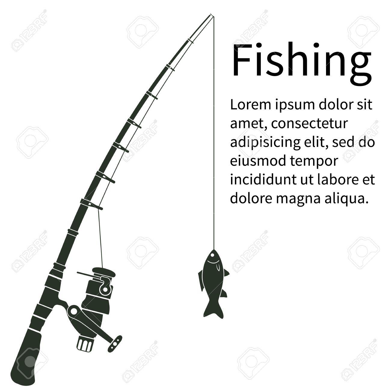 1300x1300 Fishing Pole Clipart Kid 9 Fishing Logos Hanslodge Library