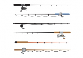 285x200 Fishing Rod Free Vector Graphic Art Free Download (Found 1,597