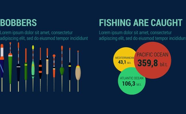 650x400 Fishing Chart Analysis Data Vector Material, Colour Chart, Data