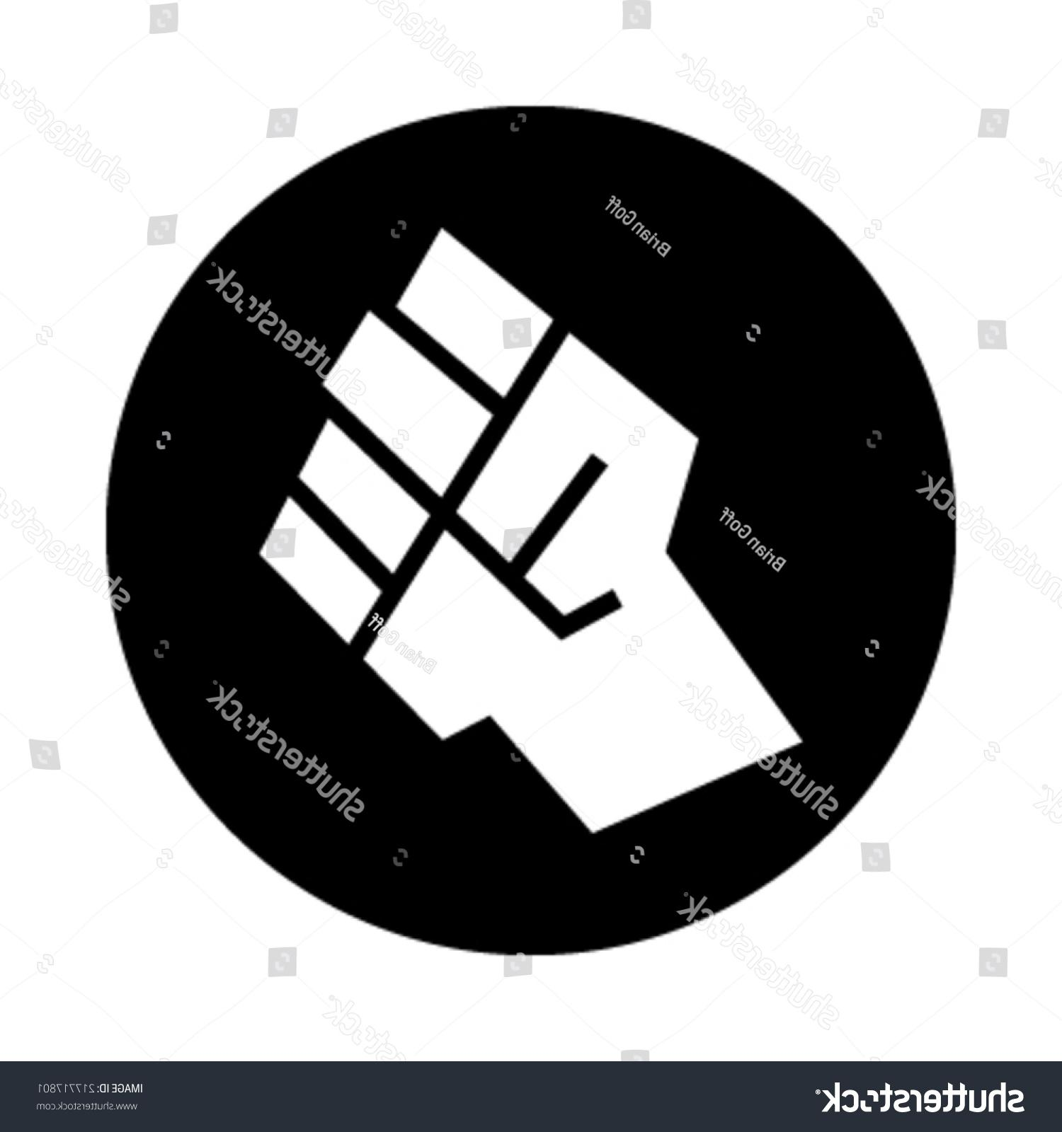 1500x1600 Top 10 Stock Vector Raised Fist Icon Pictures