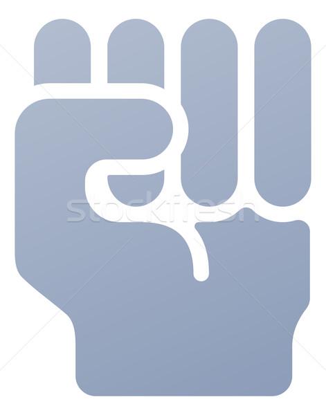 471x600 Fist Icon Vector Illustration Christos Georghiou (Krisdog