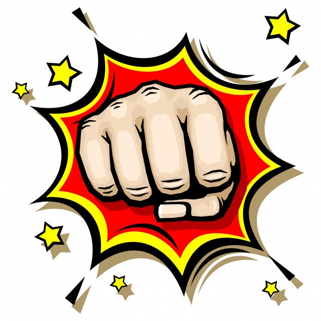Fist Punch Vector at GetDrawings com | Free for personal use
