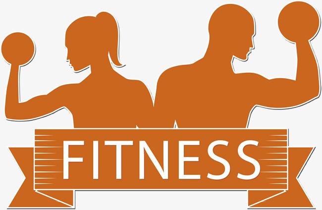 650x424 Vector Creative Fitness Logo, Vector Diagram, Woman, Dumbbells Png