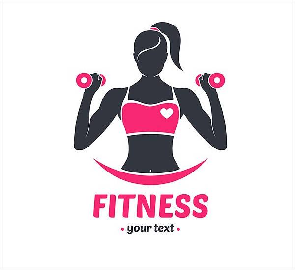 600x551 Fitness Logo Design Examples Free Amp Premium Templates