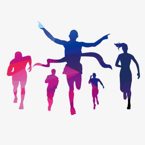 500x500 Vector Fitness, Vector, National Fitness Program, Color Character