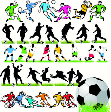 367x368 Vector Flag Football Silhouette Free Vector Download (8,430 Free