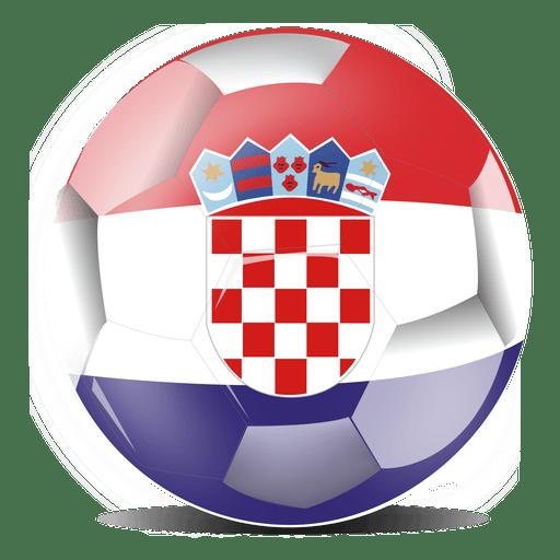 512x512 Croatia Flag Football