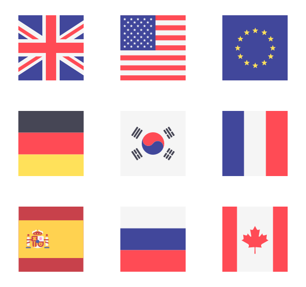 600x564 Flags Icon Family Square