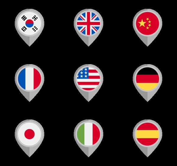 600x564 78 Flag Icon Packs