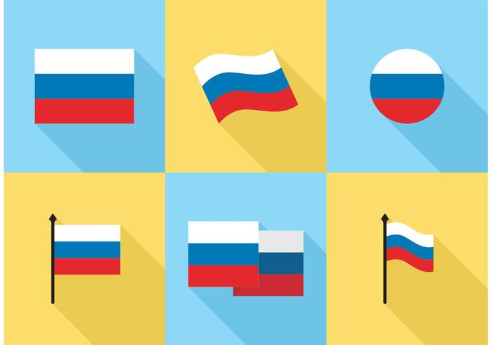 700x490 Russian Flag Icons Vector Free