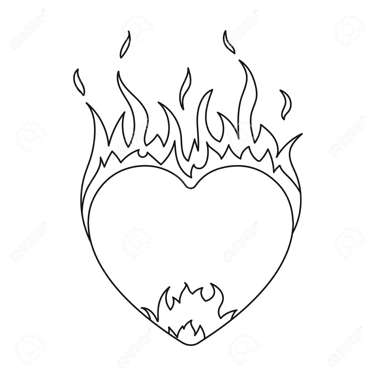 Flame Icon Vector