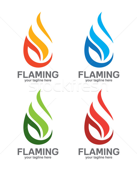 Flame Logo Vector