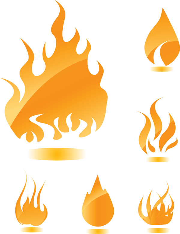 Flame Vector Free