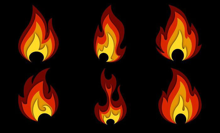 700x425 15 Fire Flame Vector For Free Download