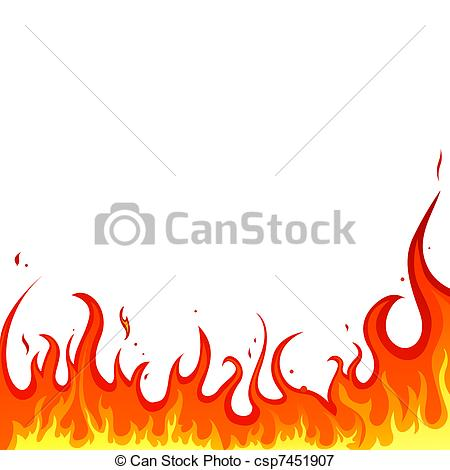 450x470 Flame Clipart Illustrator