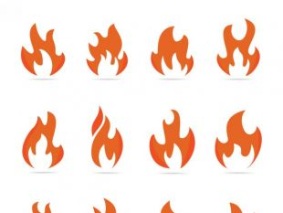 310x233 Flame Fire Flames Vector Free Vectors Ui Download