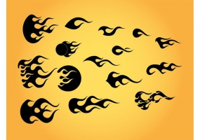 285x200 Flames Tattoo Free Vector Graphic Art Free Download (Found 2,309