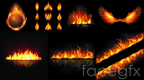 550x306 Flames Vector Over Millions Vectors, Stock Photos, Hd Pictures
