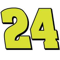 230x230 Nascar Vector Numbers