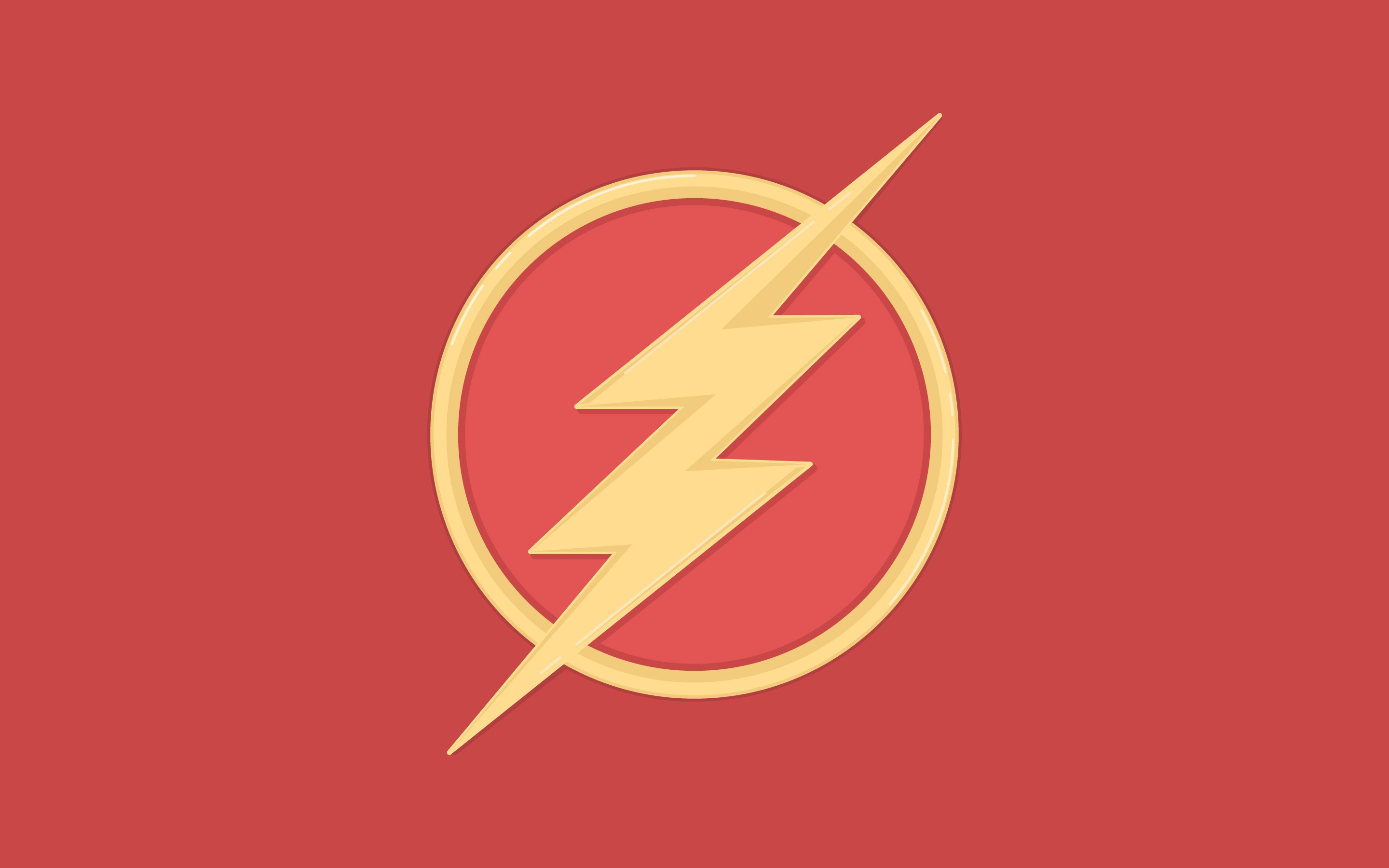 2880x1800 The Flash Symbol Wallpapers Group