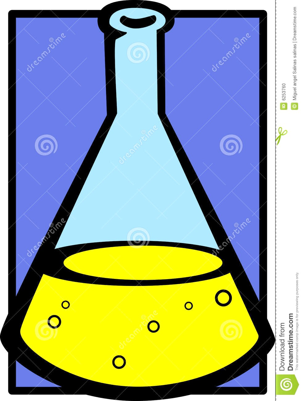 983x1300 Chemistry Beaker Clipart Flask Vector Illustration 6253760 12