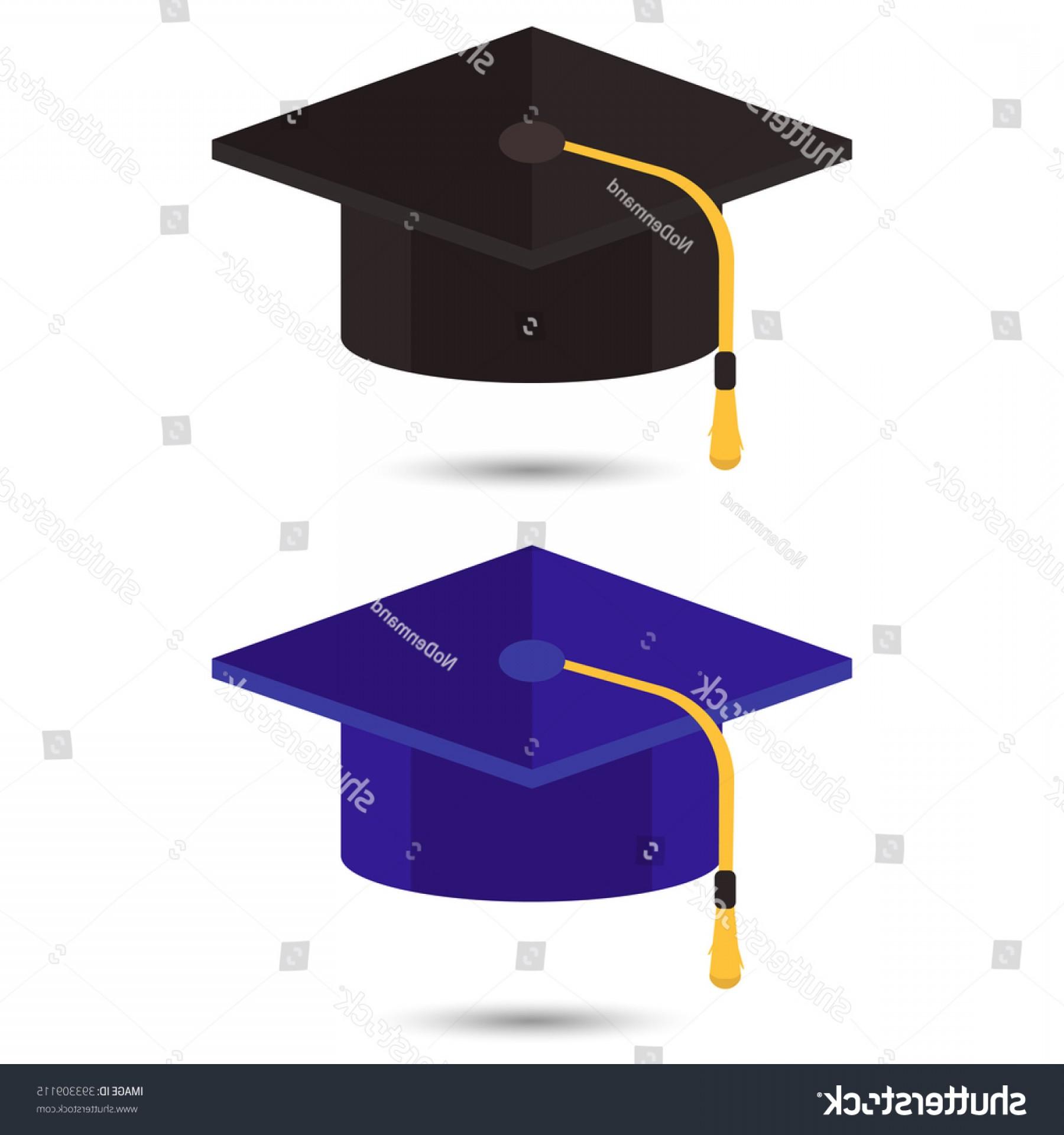 1800x1920 Graduation Cap Vector Illustration Hat Flat Rongholland