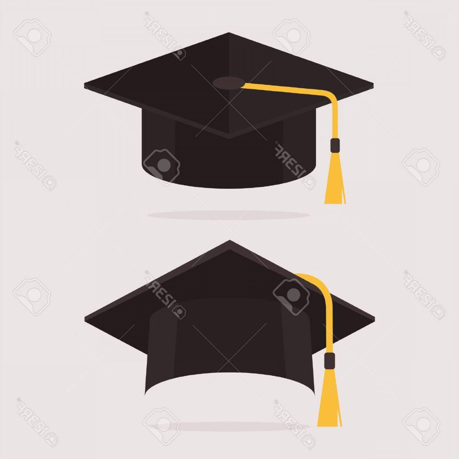 1560x1560 Photostock Vector Graduation Cap Vector Illustration Graduation
