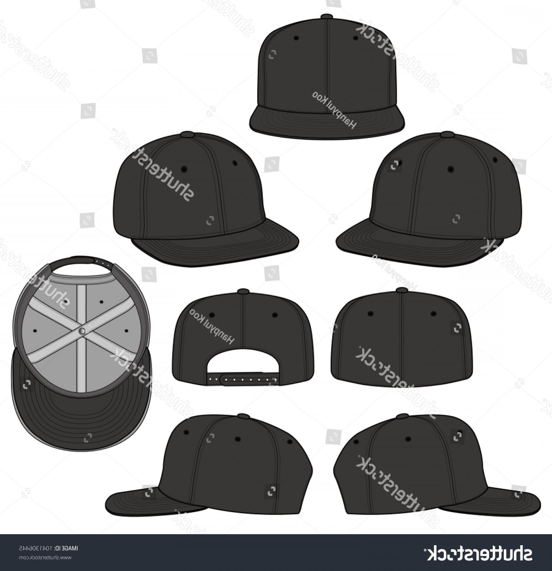 1800x1861 Snapback Cap Vector Illustration Flat Sketches Arenawp