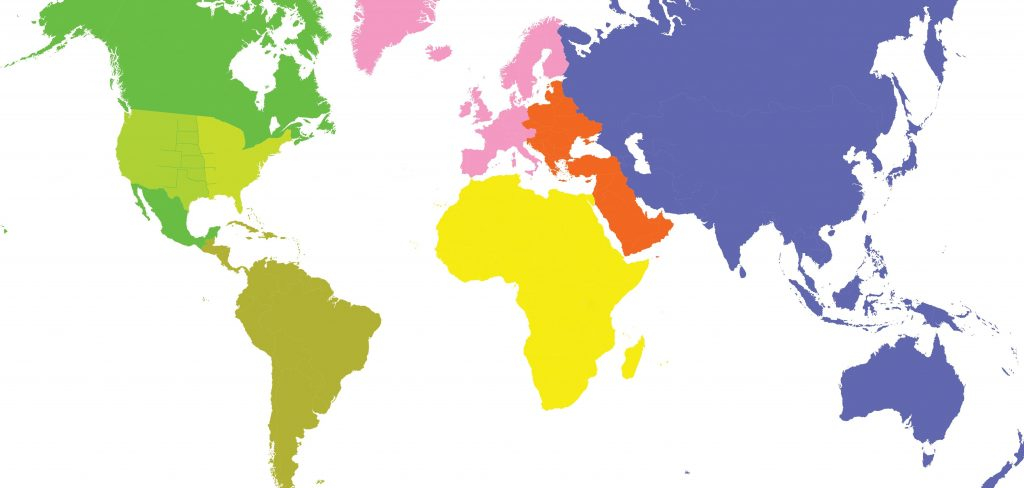 1024x488 Flat World Map Outline Simple World Map Outline Vector Fresh