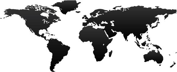 580x236 25 Free Vector World Maps