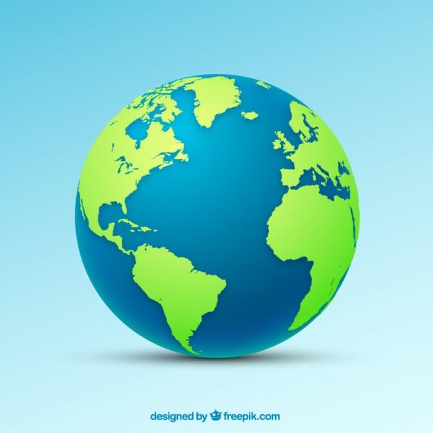 626x626 Vector Globe Free