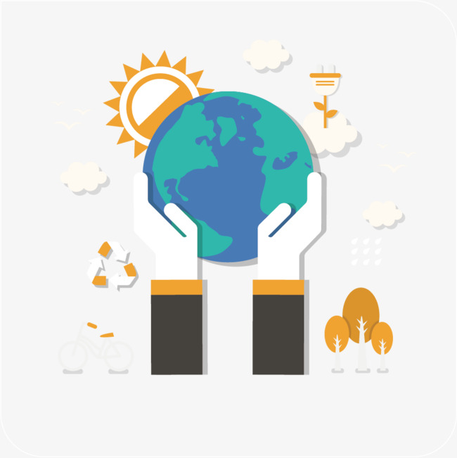 650x651 Vector Holding Earth, Earth Vector, Flat, Earth Png And Vector For