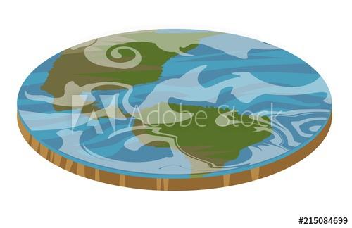 500x324 Flat Earth Disc