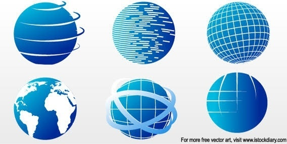 568x286 Flat Globe Icon Free Vector Download (24,647 Free Vector) For