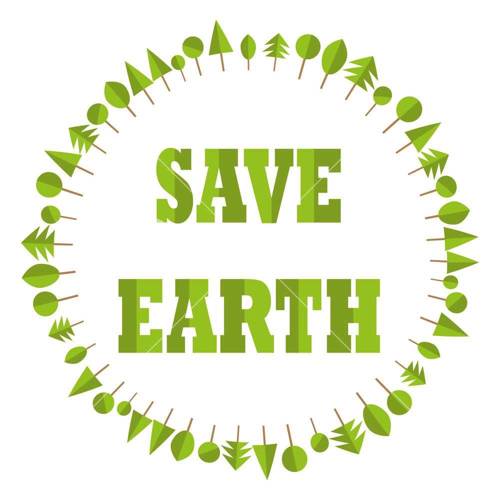 1000x1000 Ecological Flat Paper Save Earth Business Tree Circle Recycle Eco
