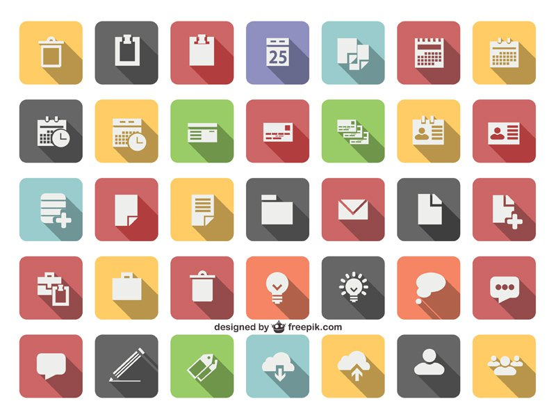 800x600 New Flat Vector Icons Sets For Designers Vector Icons