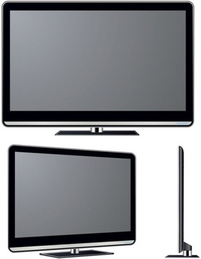 286x368 Flat Screen Tv Free Vector Download (4,397 Free Vector) For